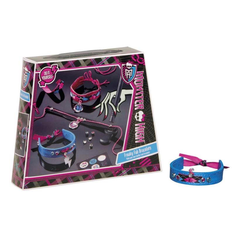 Set creatie bratari 2,Monster High