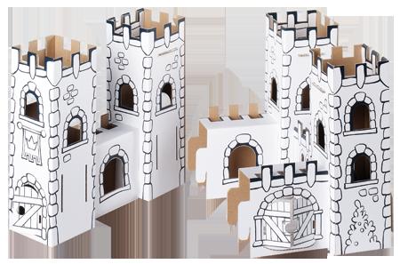 Set creativ, Castelul dragonului