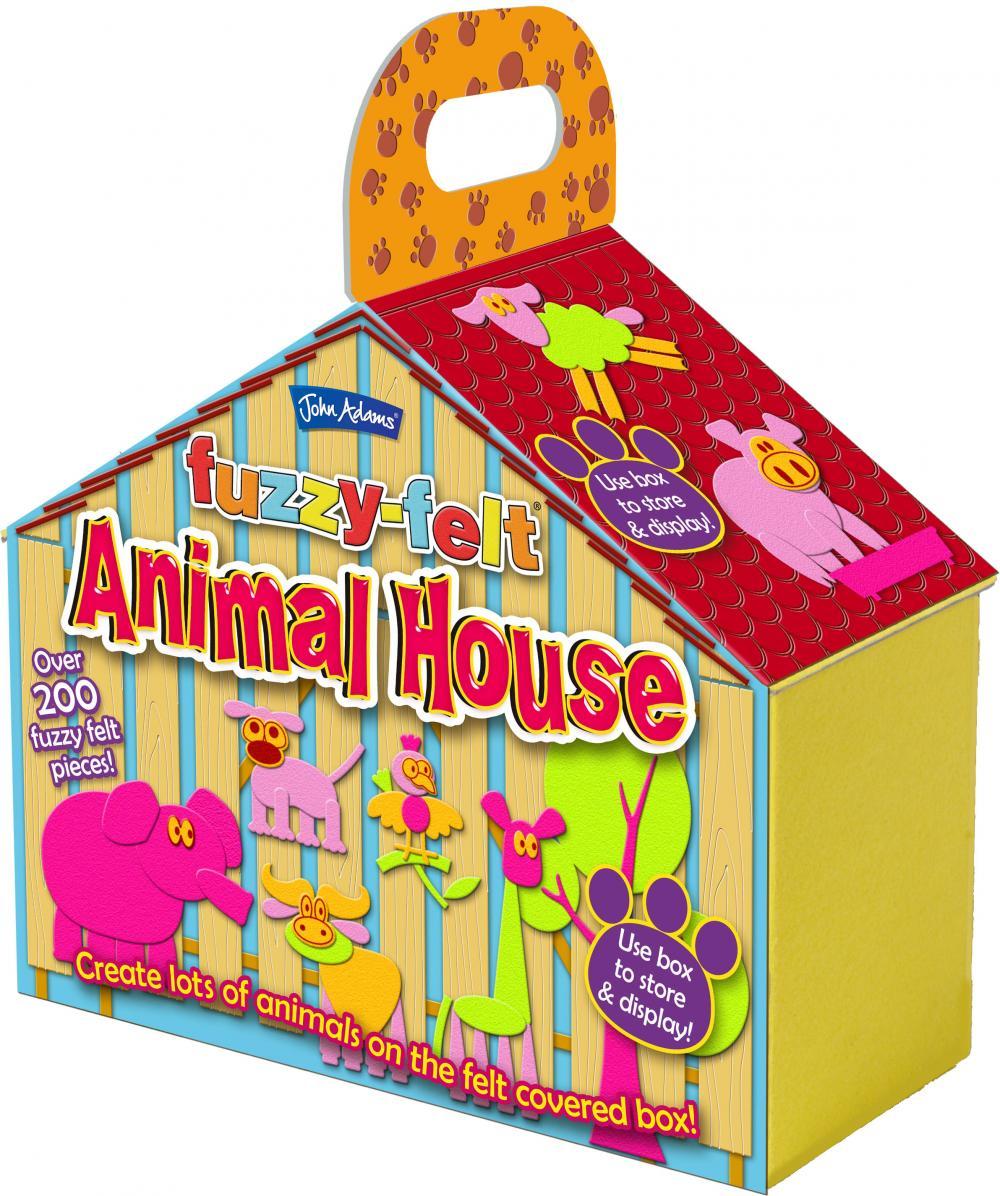zzSet creativ fetru, Casa animalelor
