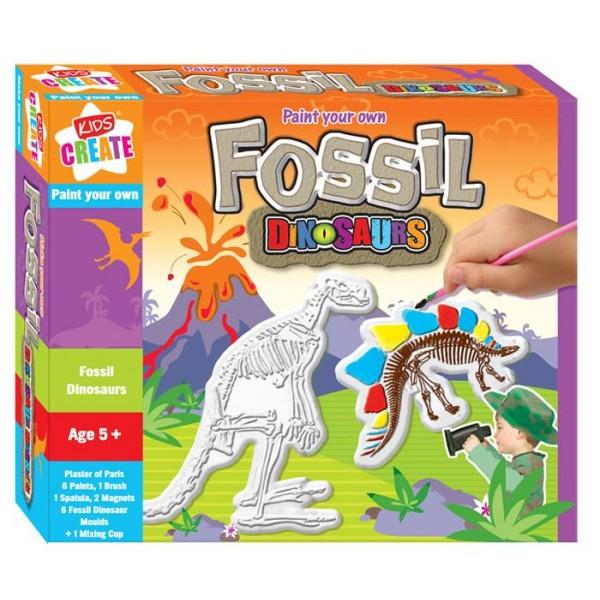 Set creativ,Picteaza-ti fosile...