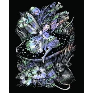 Set creativ gravura holografica - Zana