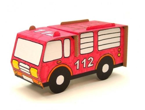 Set creativ, Masina de pompieri