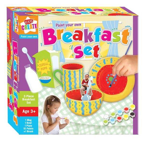 Set creativ,Picteaza-ti propriul set mic dejun