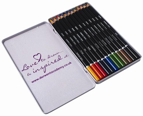 Set creioane Academy Colour 12 buc