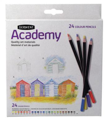 Set creioane Academy Colour 24 buc