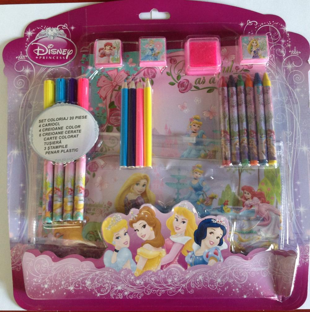 Set desen, 20 piese, Princess