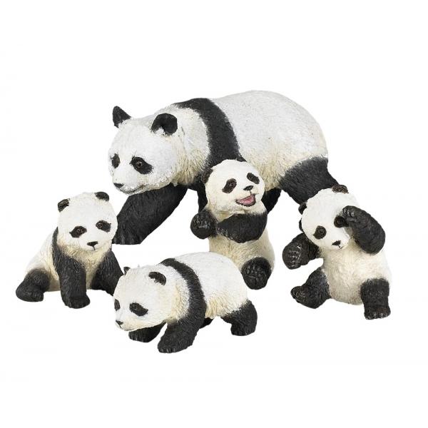 Set familie de ursi panda
