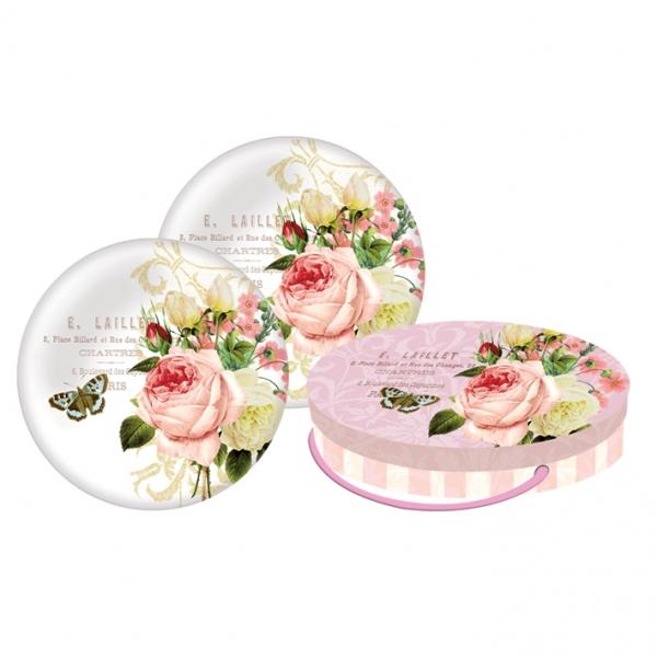Set farfurii cadou Jardin Rose