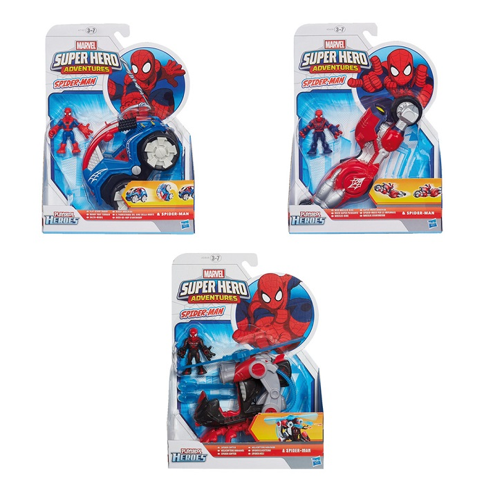 Set figurina si vehicul Spider-Man