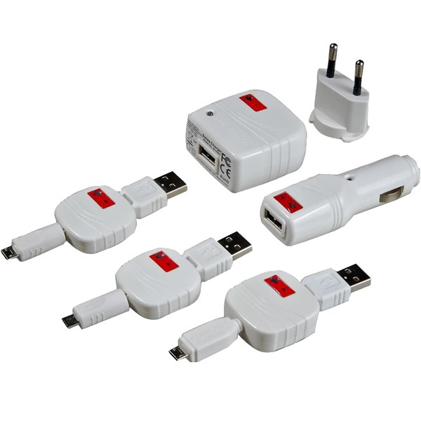 SET INCARCARE MICROPACK SWISS CHARGER
