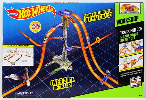 Set joaca Hot Wheels constructie pista