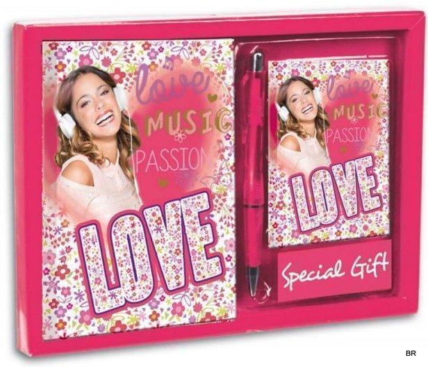 Set jurnal+carnet adrese,Violetta Passion