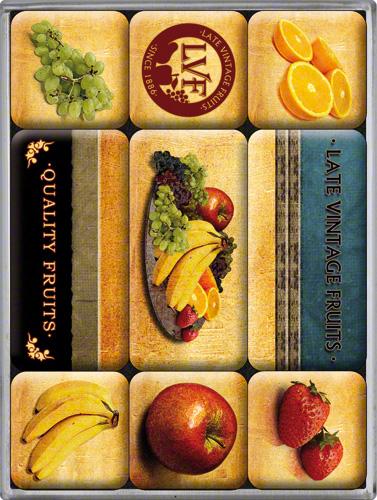 SET MAGNETI QUALITY FRUITS
