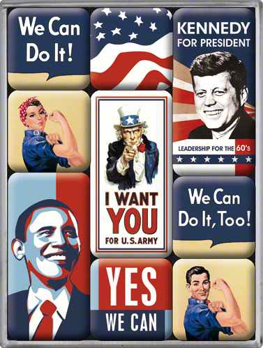 SET MAGNETI UNITED STATES OF AMERICA SET