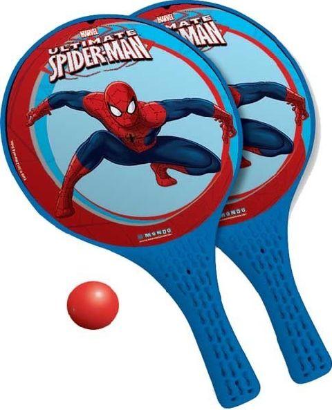Set palete tenis,Spiderman,Mondo