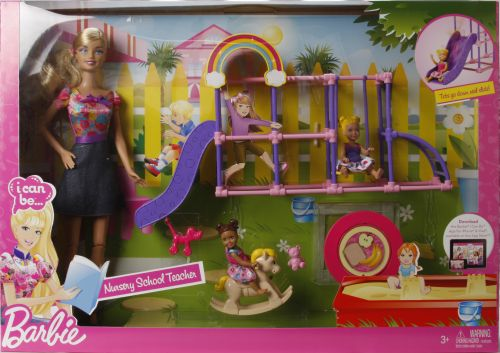 zzSet Papusa Barbie, eu pot fi profesoara