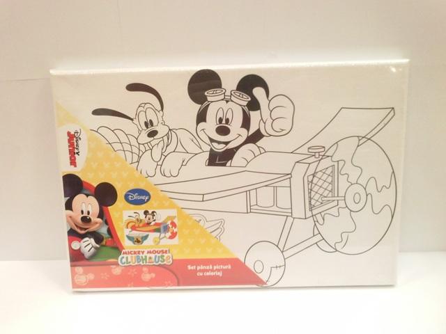 Set pictura pe panza Mickey