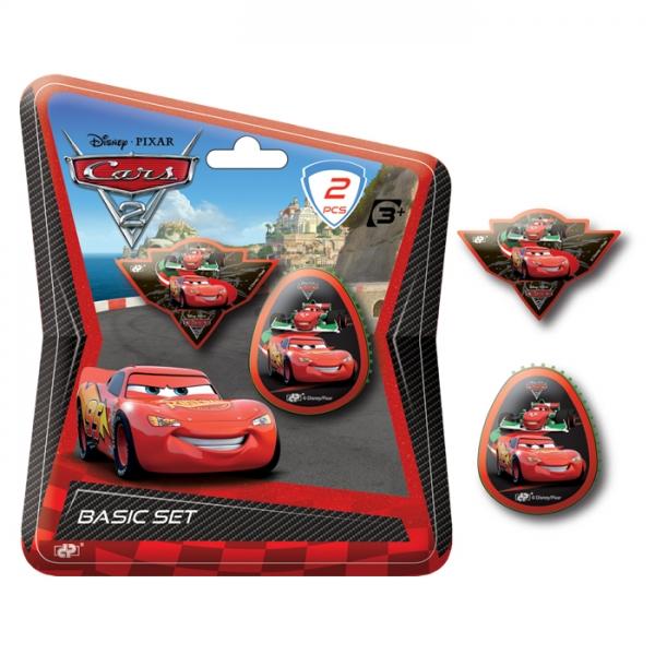 zzSet radiera+ascutitoare Cars