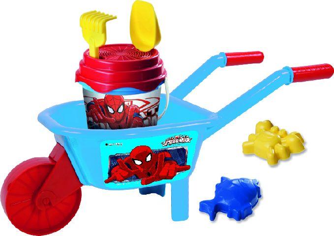Set roaba,galetusa nisip,Spiderman,Mondo