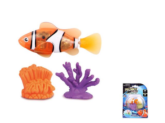 Set RoboFish pestisor si 2 corali
