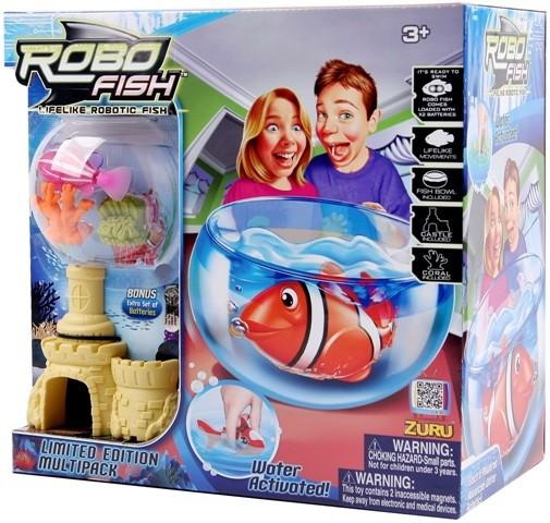 Set RoboFish pestisor,castel si 2 corali
