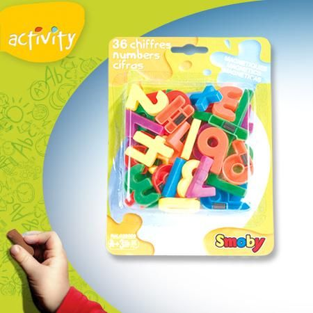 Set Smoby 36 Litere si cifre magnetice