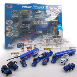 Set vehicule ColorBaby,covor,politie/pompieri