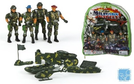 Set vehicule cu figurine,armata