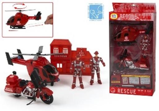 Set vehicule cu figurine,pompieri