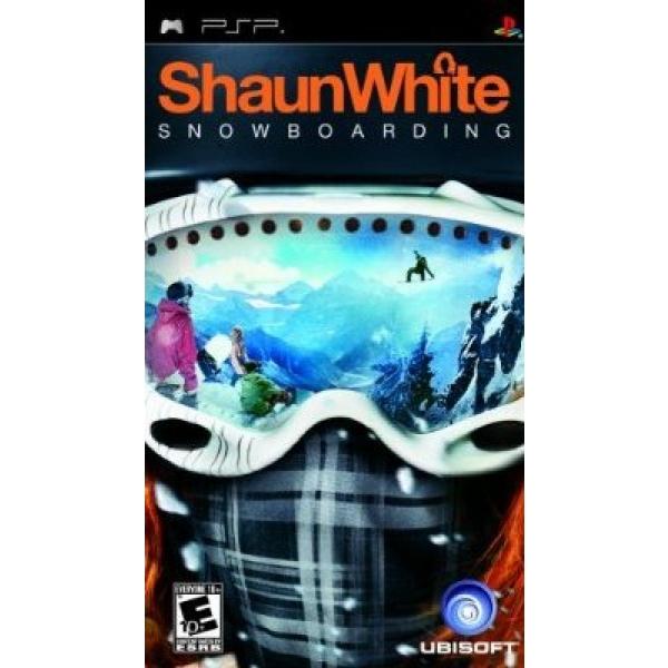 SHAUN WHITE SNOWBOARDIN PSP