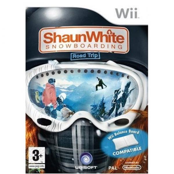 SHAUN WHITE SNOWBOARDIN WII