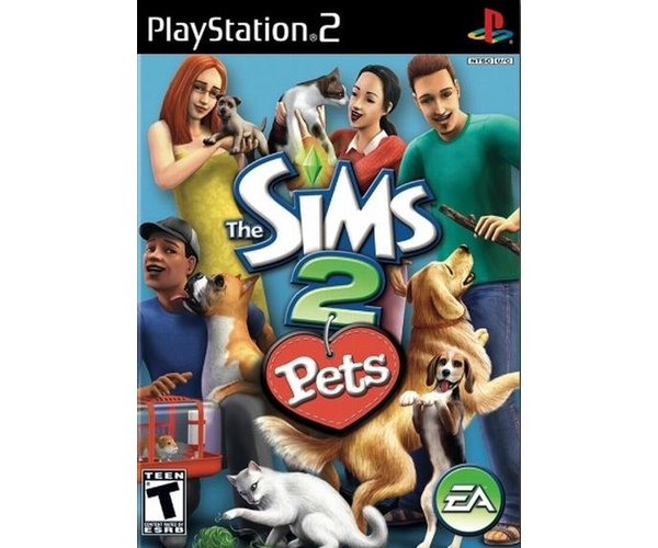 SIMS 2 PETS PS2