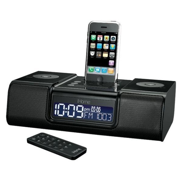 Sistem audio iHome iP9 negru