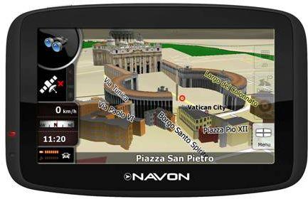 Sistem navigatie GPS Navon 480 FE