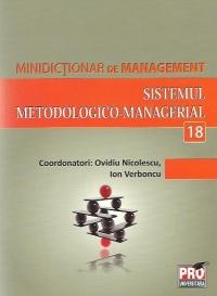 SISTEMUL METODOLOGICO-MANAGERIAL