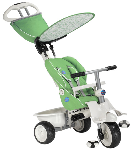 Smart Trike Recliner Stroller Verde