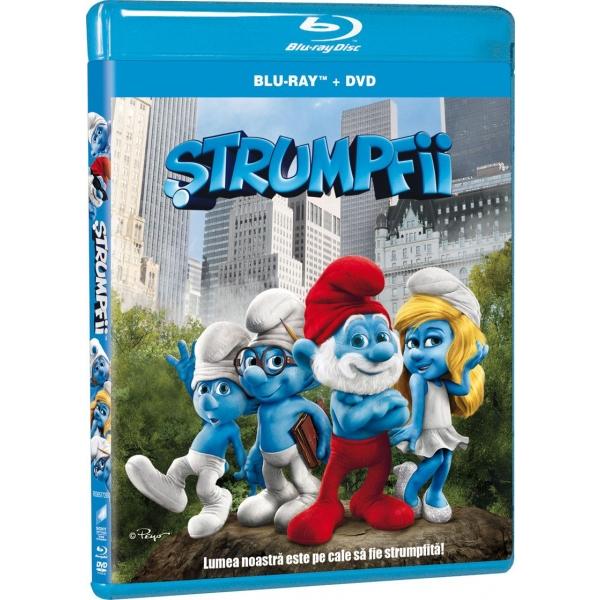 SMURFS (BR+DVD)-STRUMPFII (BR+DVD)