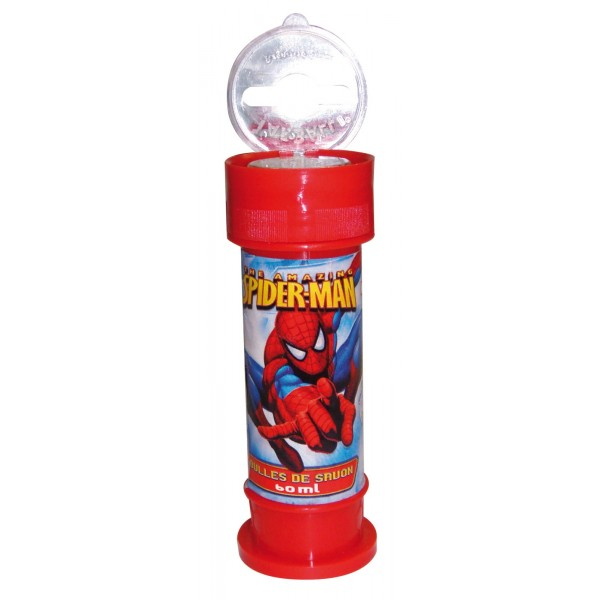 Solutie baloane de sapun Spiderman, 60 ml.