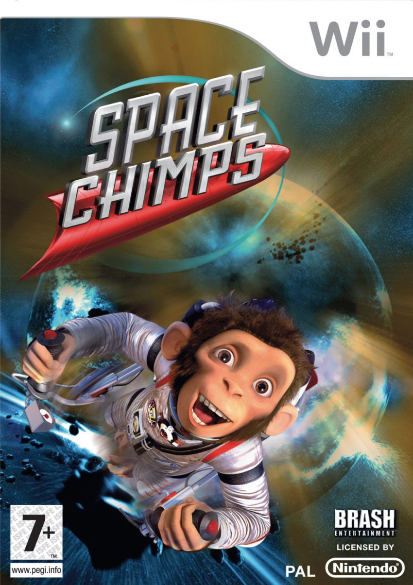 SPACE CHIMPS WII