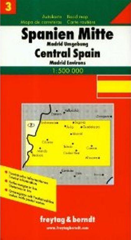 Spain central -Madrid sorroundings (1 :500.000)