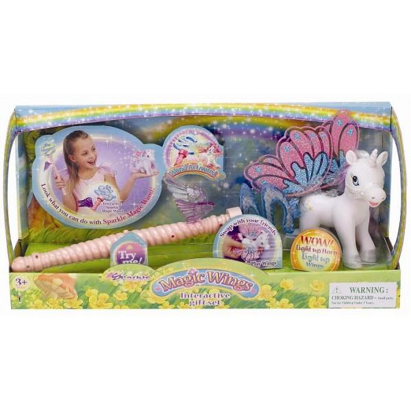 Sparkle Set unicorn cu aripi magice