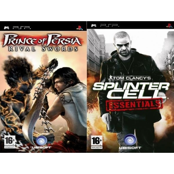 SPLINTER CELL  & PRINCE OF PERSIA RIVAL PSP