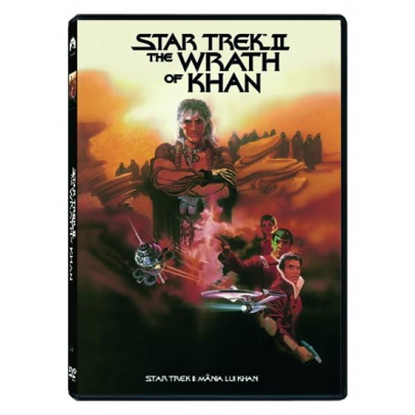 STAR TREK II:MÂNIA LUI KHAN  - STAR TREK II: THE WRATH OF KHAN
