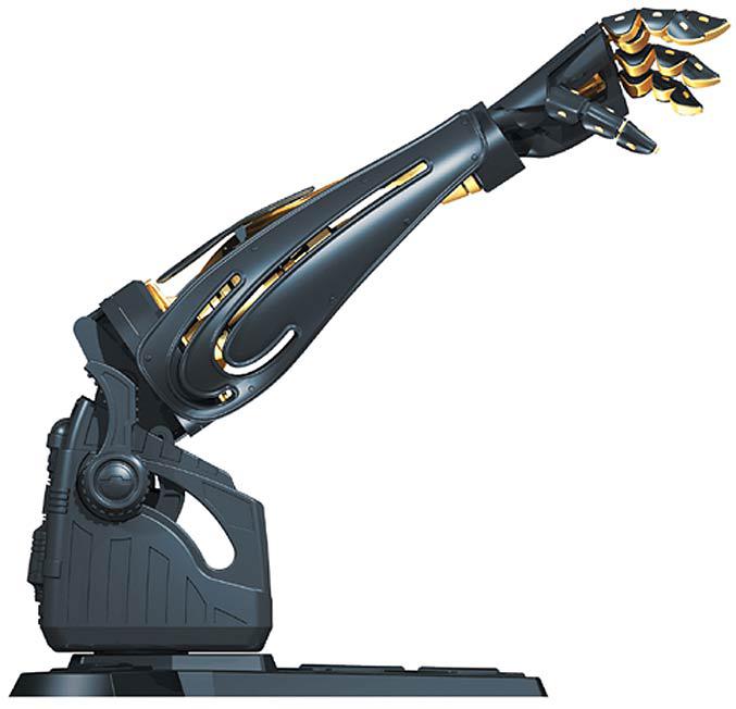 Star Wars Science, arma bionica Darth Va
