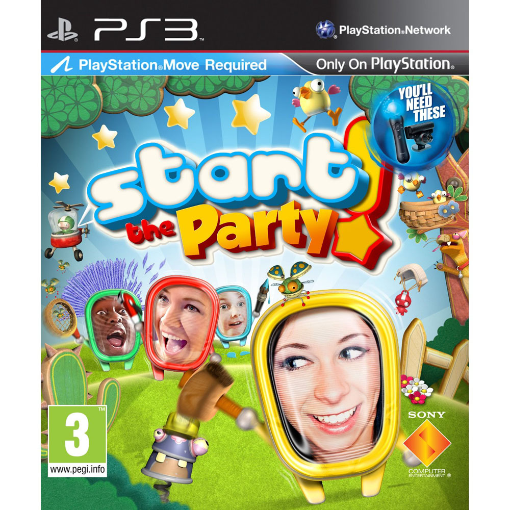START THE PARTY MOVE ED PS3