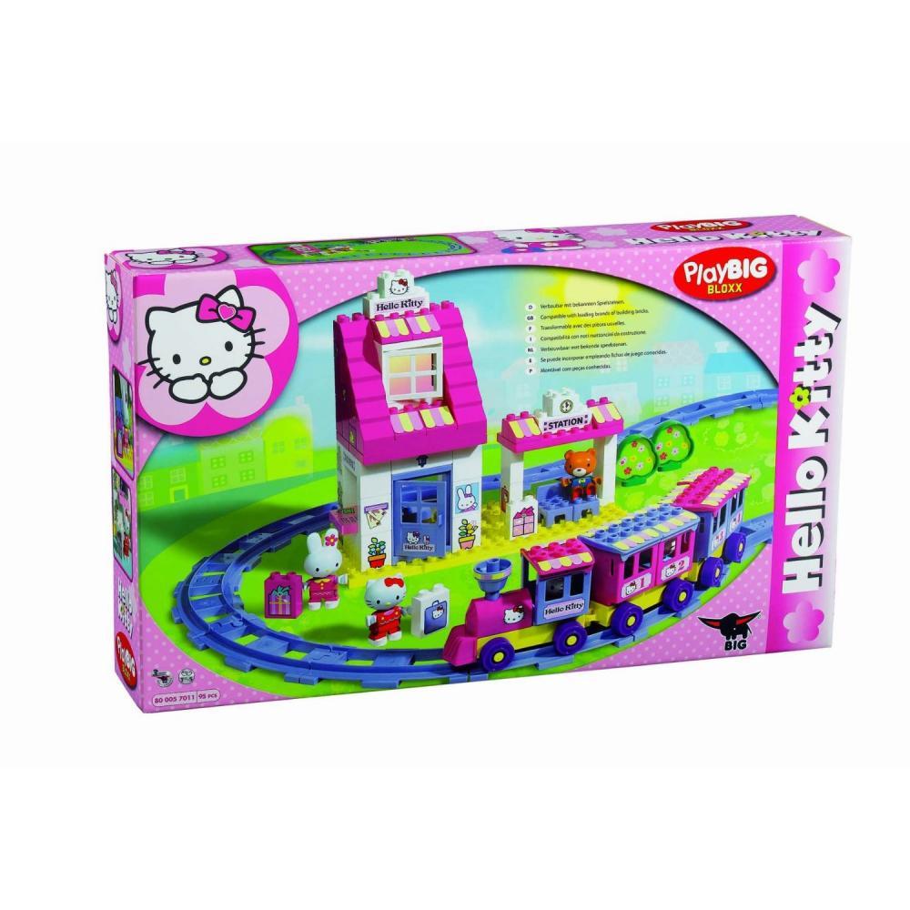 zzStatia de tren Hello Kitty