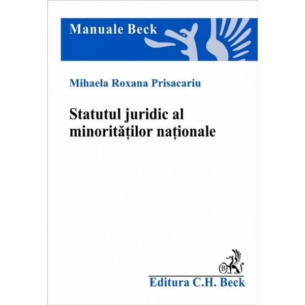 STATUTUL JURIDIC AL MIN ORITATILOR NATIONALE