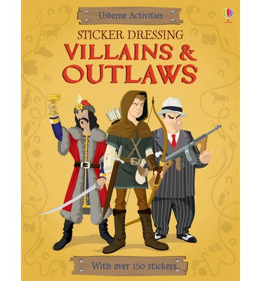 STICKER DRESSING: VILLAINS & OUTLAWS
