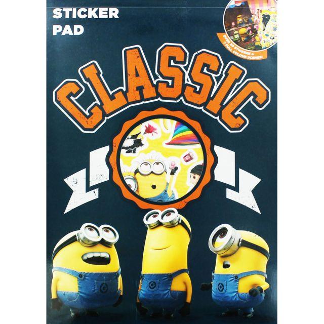 STICKER PAD - CLASSIC