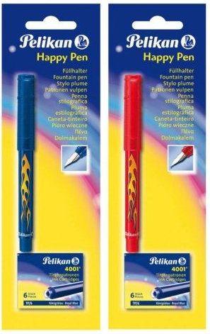 Stilou Pelikan Happy Pen,6 patroane